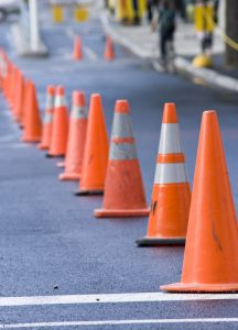summer road projects in 2019 in and around Las Vegas, known as summer cone zones