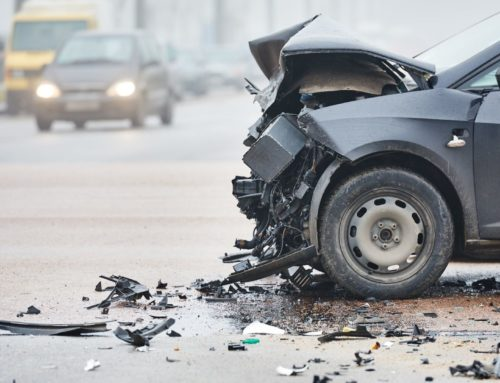 Car Crash Critically Injures Motorcyclist