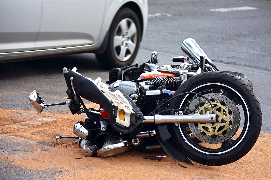 Motorbike Accident in The City